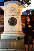 Poe Grave with Catherine Louise
